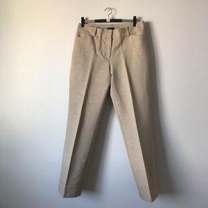 Ann Taylor Curvy khaki office pants